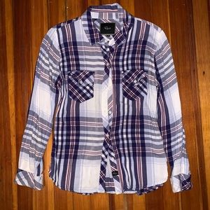Rails Pink/White/Blue Flannel